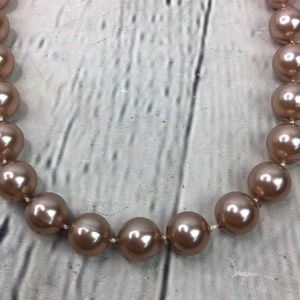 5/$25 Vintage style pink classic small bead